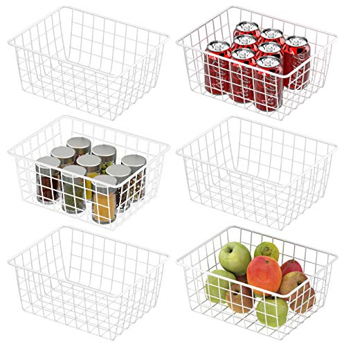 Wire Baskets, Cambond 6 Pack Wire Basket for...