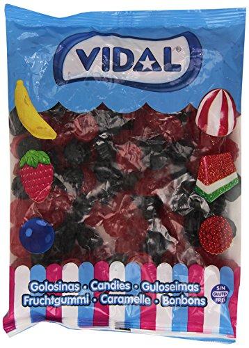 Vidal Moras Gigantes Brillo, Caramelo de Goma, 1 Kg