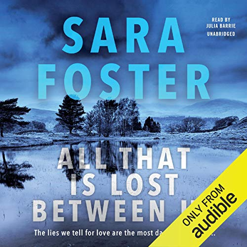 All That Is Lost Between Us audiobook cover art