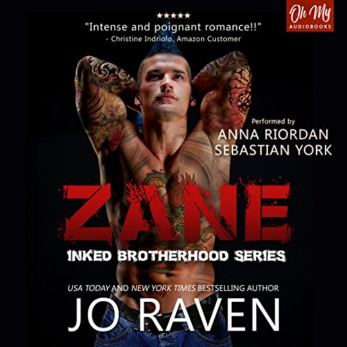 Zane audiobook cover art