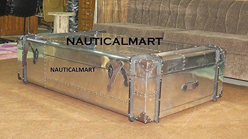 NauticalMart Ricards Table basse en aluminium