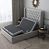 Comsuit Adjustable Bed Frame Base   Wireless Remote   Head and Foot Incline   Massage   USB Charge   Under-Bed Lighting   Zero Gravity   No Tools Required Assembly (Twin XL)…