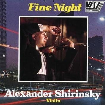 Fine Night. Alexander Shirinsky