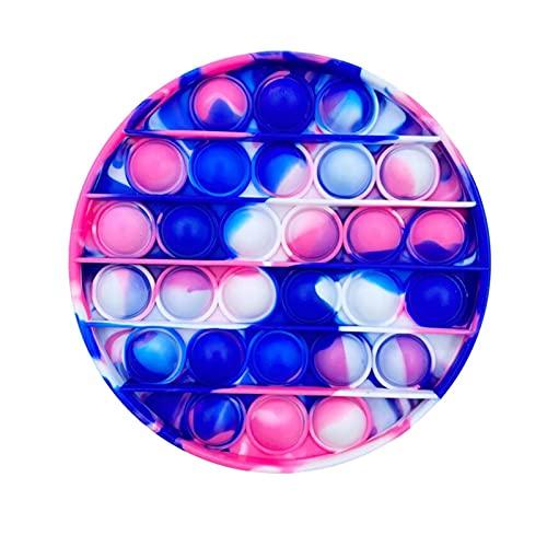 Sensory Jouet Pousser Pop Blase Pop Figit Jouet, Push-Geräte Schaum sensorische feste Spielzeuge Spielzeug Handlung sensorische Spielzeuge Anti-Stress Kinder Kinder Kinder Erwachsene