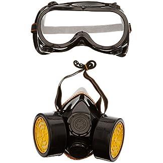 TRIXES Accesorio Traje de Fantasía 2 Piezas Máscara de Gas Gafas/Máscara para Respirar – Ideal para Carnaval!
