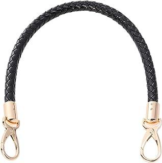 Supvox Pu-Leder Handtasche Griffe Ersatz Geldbörse Riemen Gold Spring Buckle Handtasche Tasche Brieftasche Straps 52 cm