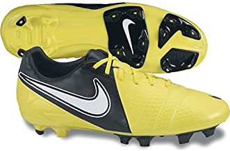 NIKE Men's CTR360 Libretto III FG Soccer Shoe - Yellow & Black