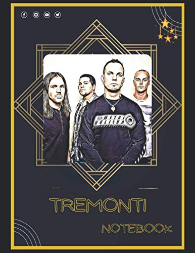 Tremonti Notebook: A Large Notebook/Composition/Journal Book with Over 120 College Lined Pages - Great Gift for a Close Friend or a Family