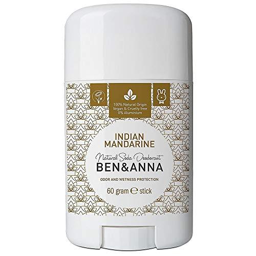 Ben & Anna Soda Desodorante Natural, color naranja de la India
