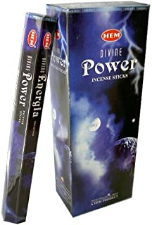 Divine Power - Box of Six 20 Stick Tubes - HEM Incense