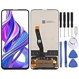 JUNXI Phone Schermo LCD e Digitizer Assemblea Completa for Huawei Honor 9X (Nero) di Alta qualità (Colore : Black)
