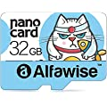 Alfawise A32 32GB Micro SD Class 10 UHS-1 Memory Card 80MB/s High Speed Super Fast Data Transfer