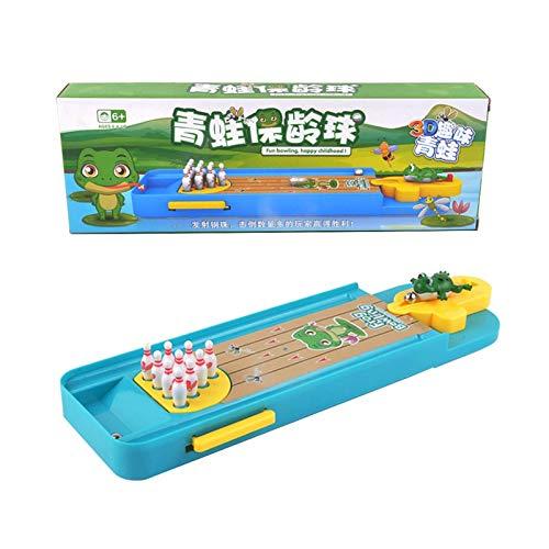 Mini juego de mesa Bowling Pre-Kindergarten Toy, Safe for Kids – Mejor edad de juego en interiores – Fácil de instalar – Excelente idea de regalo