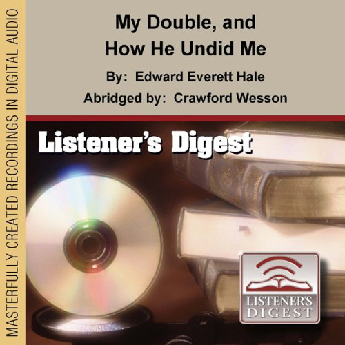 My Double and How He Undid Me audiobook cover art