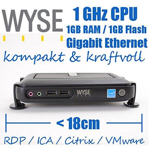 WYSE Thin Client Thinclient RDP Terminal C10LE 1,0GHz 1GB RAM 1GB Flash
