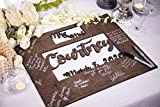 Wedding Guest Book Alternative - Large and Small Sizes! - Personalized Wedding Guest Book Sign