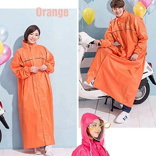 Poncho de pluie 3 en 1 avec pochette de transport (gris, bleu, orange, violet, rose) Imperméable réutilisable imperméable pour adulte avec capuchons, vêtements de pluie pour vélo de randonnée Camp