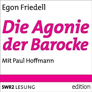 Die Agonie der Barocke Titelbild