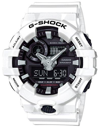 [カシオ] 腕時計 ジーショック G-SHOCK GA-700-7AJF メンズ ホワイト