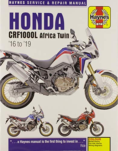 Coombs, M: Honda CRF1000 Africa Twin (16-19) (Haynes Powersport)
