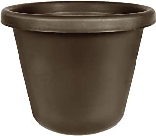 "Classic Garden Planter - The HC Companies 20-Inch Large Flower Pot Planter for Indoor & Outdoor Plants, Pairs w/ 20"" Choco..."