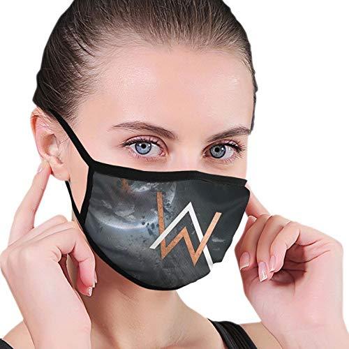 Alan Walker - Protección contra el polvo para la cara y las orejas de algodón para adultos, para ciclismo, cosplay, ejercicio matutino
