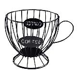 Kirmax Cestello Porta Capsule caffè Cestello Tazza caffè Porta Capsule Organizzatore Porta Capsule caffè Accessori caffè