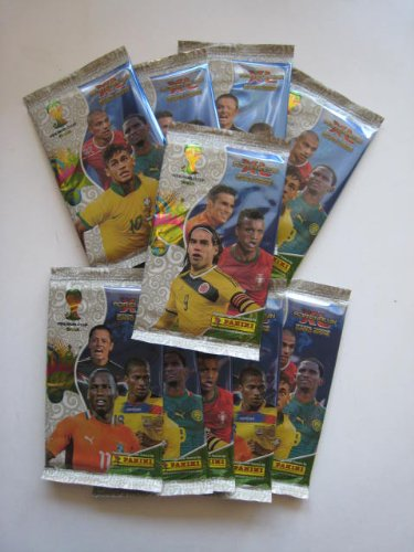 New Panini FIFA World Cup Brasilien 2014Adrenalyn Fußball Karten 10Packungen (60Karten)