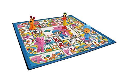 Incluye 4 figuras, 1 dado y un tablero de 40 x 40 cm. 4 diseños de figuras diferentes. Con caja de regalo.