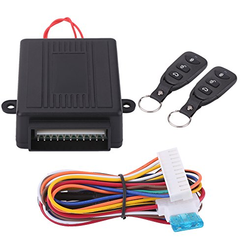 Sistema di apertura senza chiave per auto, kit di chiusura centralizzata universale per telecomando Kit di aggiornamento per ingresso senza chiave con rilascio del tronco