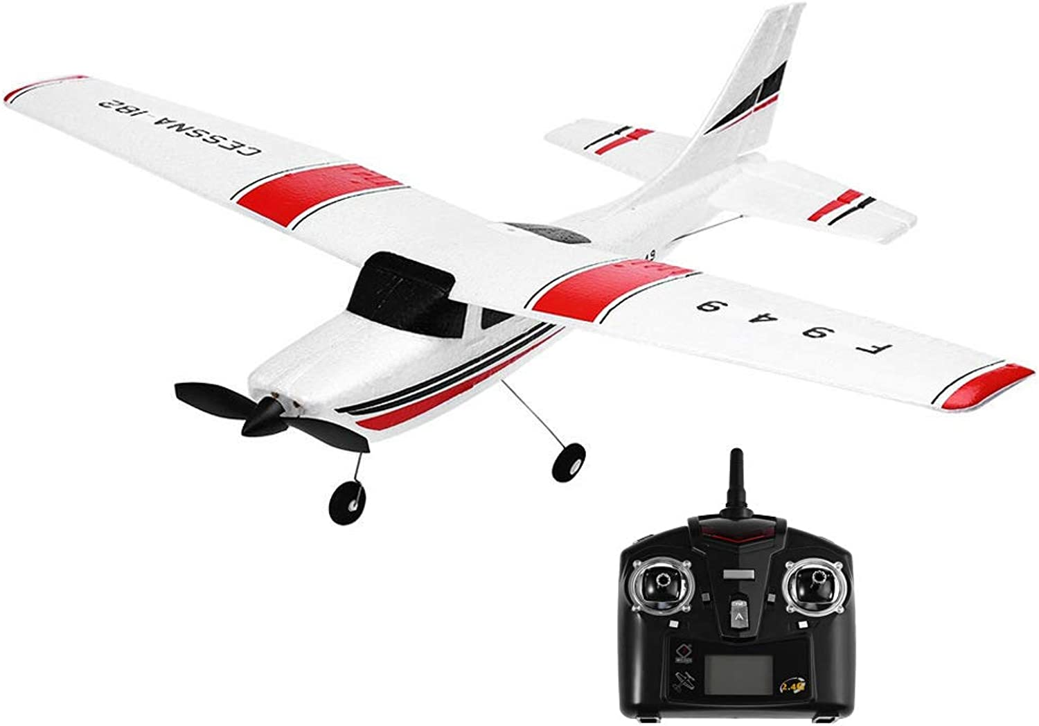 SLONG Remote Control Foam Aircraft Hand Throwing Fixed Wing Glider RC Airplane Remote Control Aircraft Toy USB Charging High Simulation