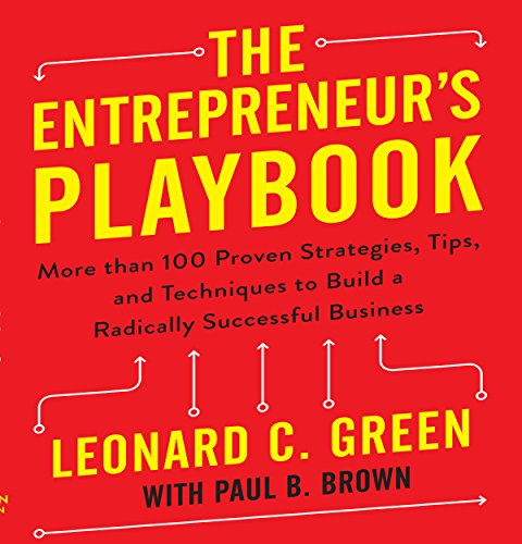 Page de couverture de The Entrepreneur's Playbook