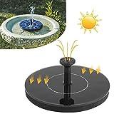Medi Tool Arnusa–Fuente de Jardín con 1.4W Panel Solar para Jardín o Estanque Fuente