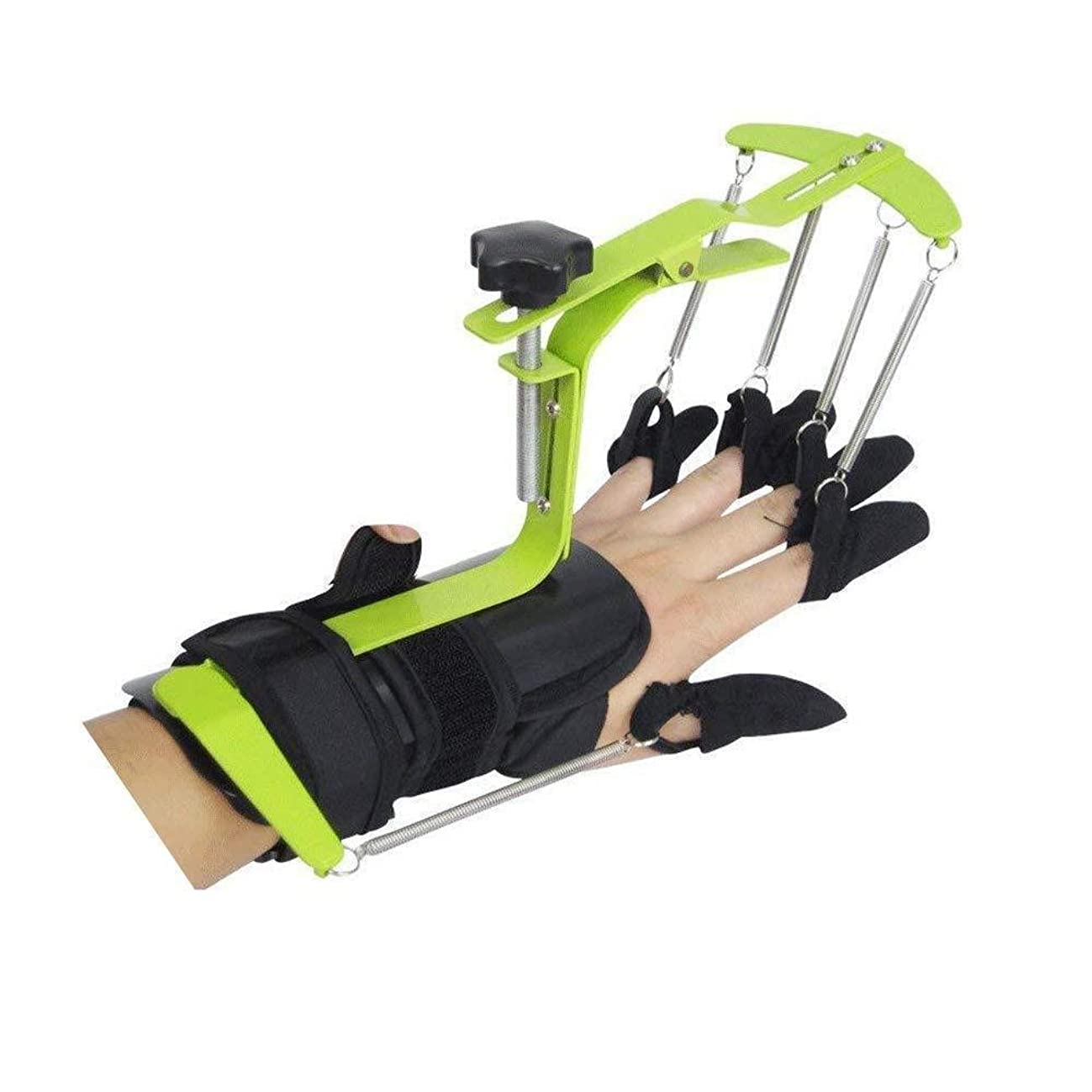 なだめるアラーム付録トリガースプリント、指トレーニングデバイス、指骨折サポート、脳卒中/片麻痺/外傷性脳損傷
