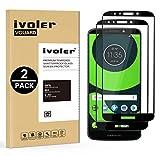 iVoler [Pack de 2] Verre Trempé pour Motorola Moto G6 Play/Motorola Moto E5, [Couverture Complète] Film Protection en Verre...