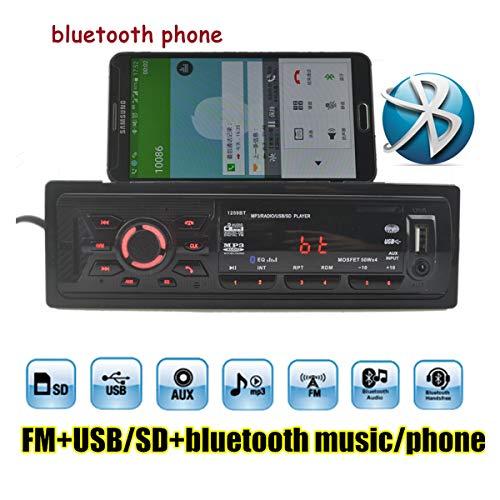 GOFORJUMP 1 Lecteur Audio stéréo FM MP3 avec autoradio Din intégré à Bluetooth autoradio Audio