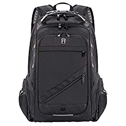 ✈ LOTS OF SPACE & POCKETS: 13 x 8.9 x 19inch (L*W*H); Capacity: 38L. One separate laptop compartment holds up to 15.6-inch Laptop or iPad. One spacious packing compartment for daily necessities, large enough for schoolbooks and binders. Front compart...