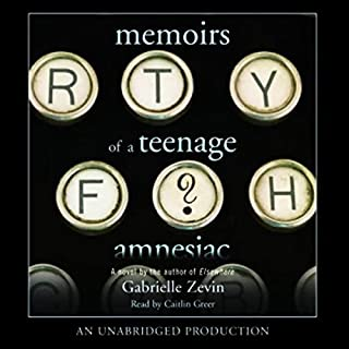 Memoirs of a Teenage Amnesiac audiobook cover art