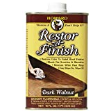 Product Image of the Howard Products RF6016 Restor-A-Finish, 16 oz, Dark Walnut