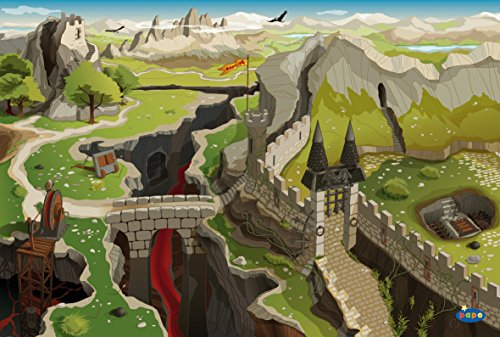 Papo 60502 Teppich Mittelalter, Spiel