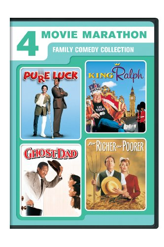 4-Movie Marathon: Family Comedy Collection (Pure Luck / King Ralph / Ghost Dad / For Richer or Poorer) [DVD]