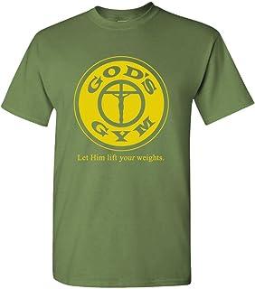 The Goozler - Gods Gym - Mens Cotton T-Shirt