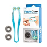 Lindo FingerCare Massager - Finger Massage System, Includes One Finger Roller and Two Massage Rings