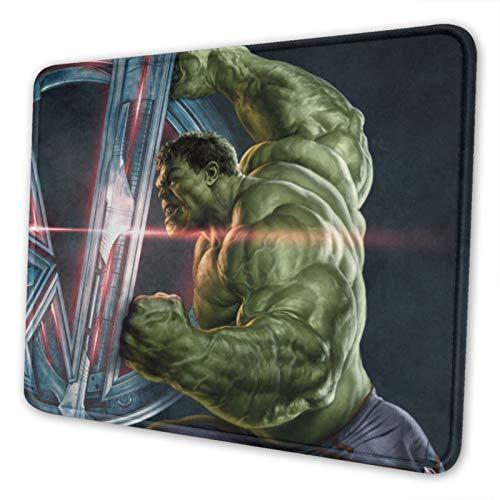 Hulk - Alfombrilla de ratón para ordenador portátil con bordes cosidos para oficina, ideal para juegos, varios tamaños de 7,9 x 9,5 pulgadas