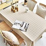 Yinaa Wachstuch Tischwäsche Tischdecke mit Fleckschutz