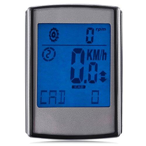 BEST OF BEST Bike tachimetro Ciclo Computer, 3 in 1 Funzionale (fascia per cardiofrequenzimetro, sensore di cadenza e sensore di velocità)