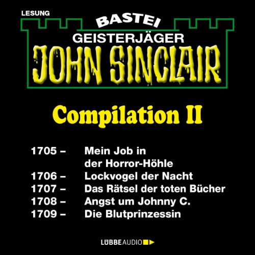 John Sinclair Compilation II audiobook cover art