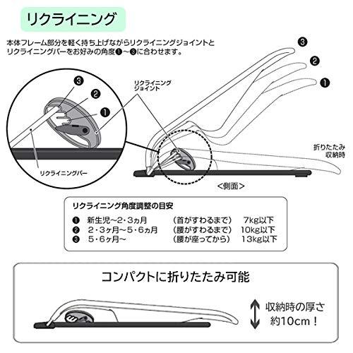 西松屋SmartAngel)ベビーバウンサーライト