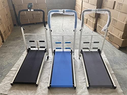 PPuujia Equipo de la aptitud mini plegable caminadora hogar pequeño interior plegable hogar caminadora mini silenciosa pérdida de peso equipo de fitness
