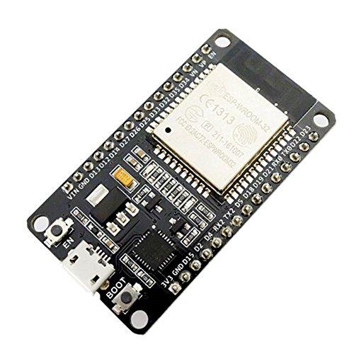 SeeKool ESP8266 ESP-32 ESP-32S Development Board 2,4GHz WiFi + Bluetooth Dual-Core-Mikrocontroller Prozessor Integriert mit Antenne HF-AMP-Filter AP STA, Ultra Low Power, Verlötet (1 Stück)
